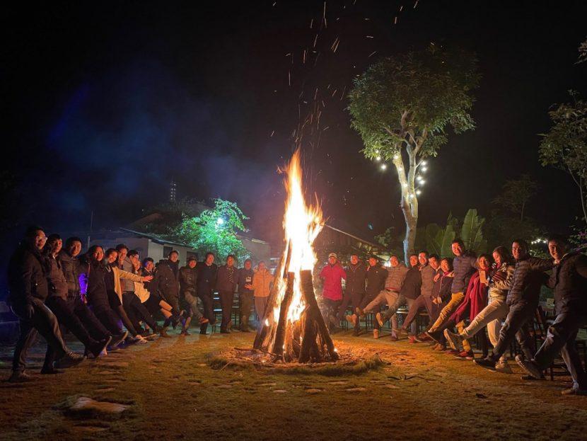 lửa trại khởi nghiệp